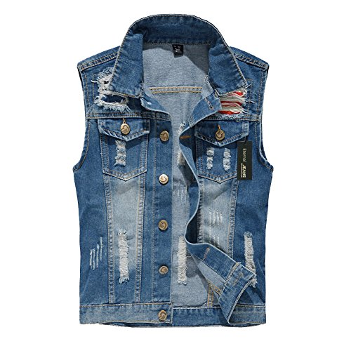 a308cbcf5df7a Eternal Women Casual Cotton Sleeveless Jeans Denim Vest Jacket Outerwear  Clothes
